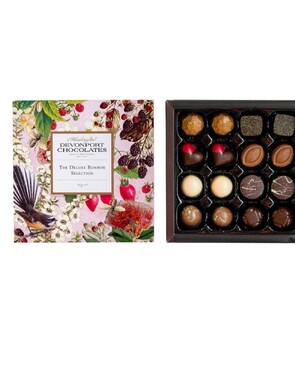 DEVONPORT CHOCOLATE Vintage Kiwiana Deluxe Bonbon Selection